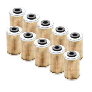 mayoreo 10 filtros aceite pulsa ns 200 dominar 400
